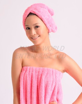 Hair Turban Towel Drying Wrap 1