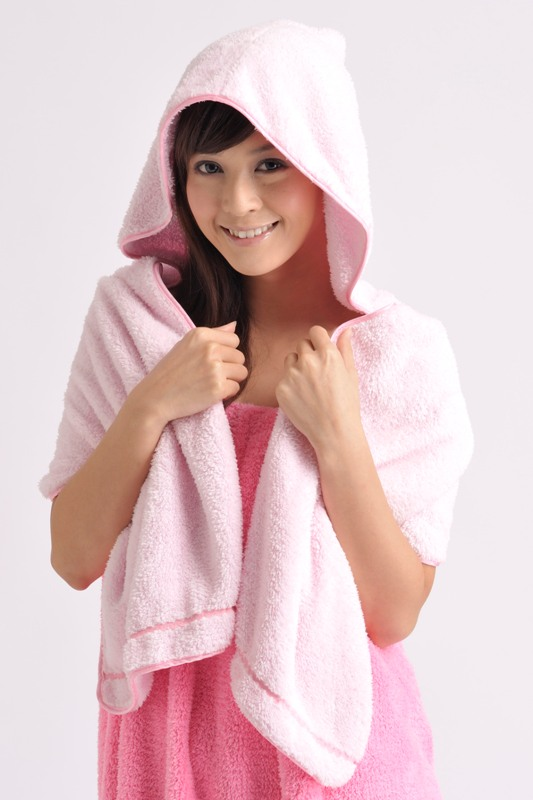 Hooded Hair Drying Towel 1