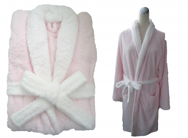 Adult's Two Tone Shawl Collar Robe 3