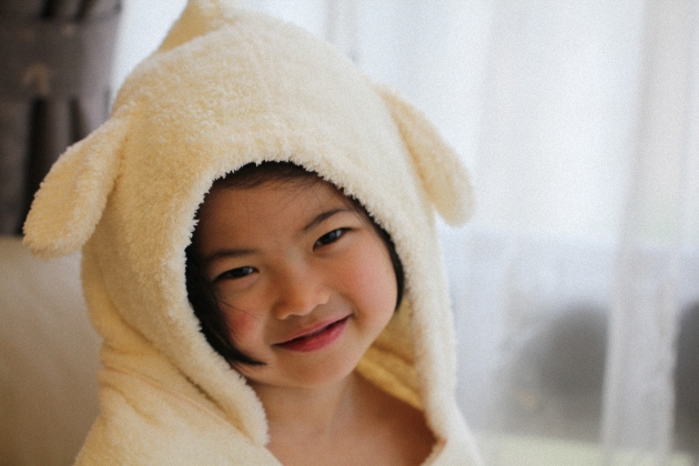 Baby Hooded Towel - Bunny 2