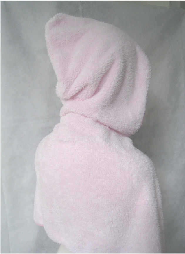 Hooded Hair Drying Towel 2