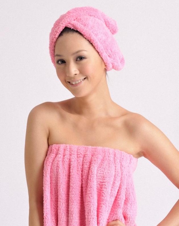 Soft Absorbent Bath Wrap 3