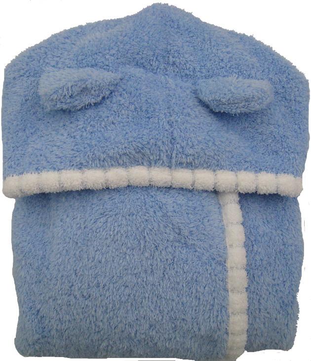 Baby Piping Hooded Bathrobe 2~5years 5
